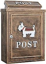 YONGYONGCHONG brievenbus Villa Mailbox buiten Suggestion Box regenwater brievenbus postbox Garden Creative-Mailbox verzame...