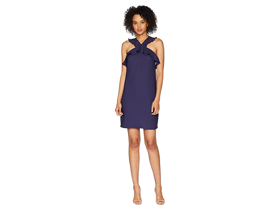 CeCe Elsie Ruffle Open Back Dress (Mosaic Tile) Women
