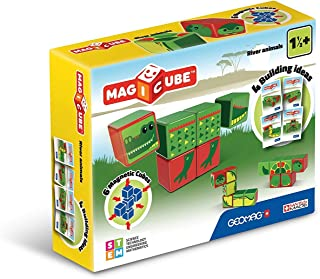 Geomag 133 Magicube River Animals - Magnetic Construction Cubes