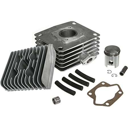 Akf Set Zylinder Kolben Kopf 60ccm Für Simson S51 Sr50 Auto