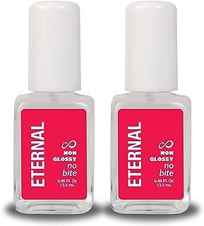 Eternal No Bite Nail Polish – Stop Biting Nails Cuticles and Thumb Sucking Treatment for Adults and Kids (2 Pack)