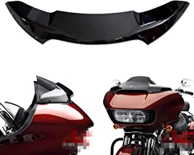 4 Inch Windscreen Front Airflow Windshield for Harley Touring Road Glide FLTRUSE FLTRU FLTRXS FLTRX 2015 2016 2017