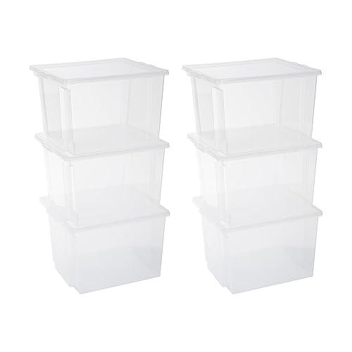 Bekannt Aufbewahrungsbox mit Deckel Kunststoff: Amazon.de AB85