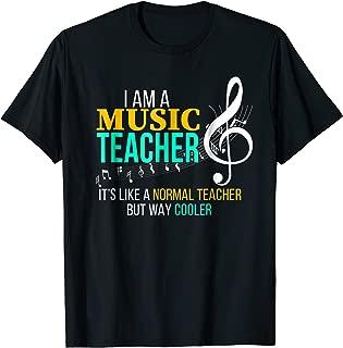 Funny Music Teacher T Shirt Music Teacher Cool Teacher Gifts