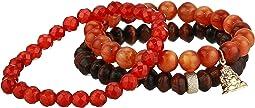 Opportunity Aventurine Gemstone Beaded Bracelet Set