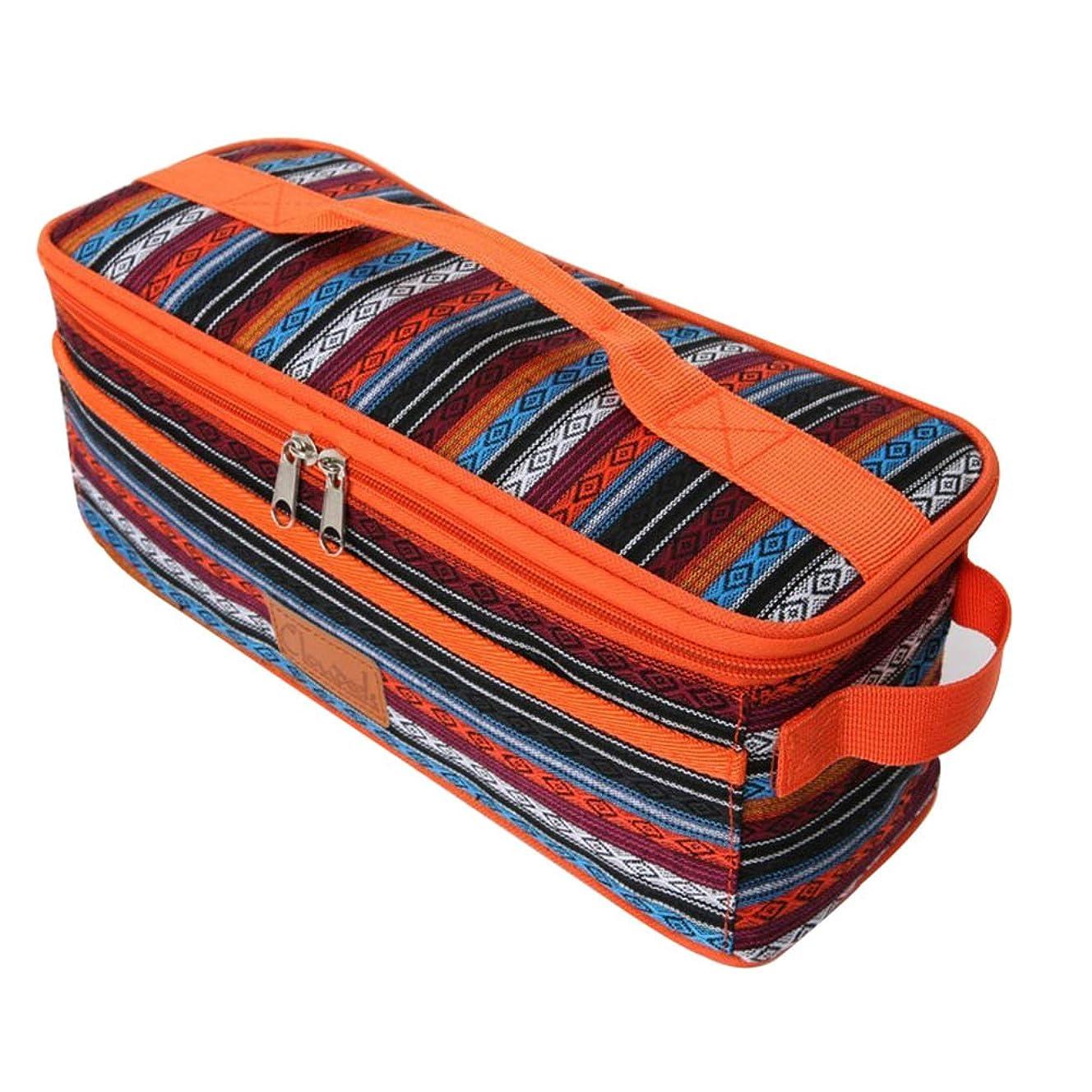 小石航空機もつれBraheart 正規品 ピクニック用 食器収納バッグ 調理器具入れ BBQ用食器収納 流行る民族風 手提げバッグのデザイン 携帯便利