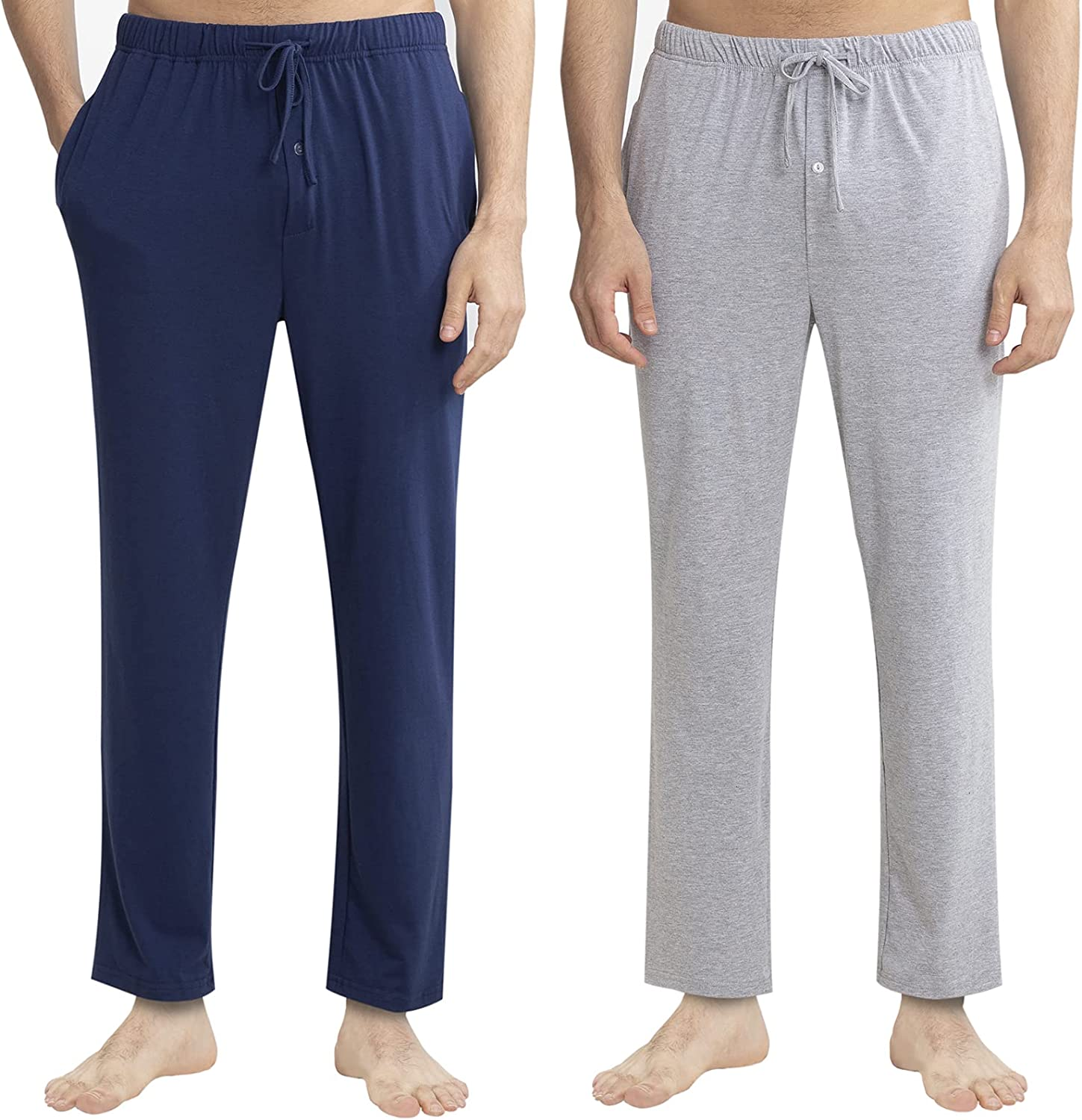 YIMANIE Free shipping anywhere in the nation Men's Pajama Pant Cotton Department store Comfy Sleep Lounge B Pants Soft