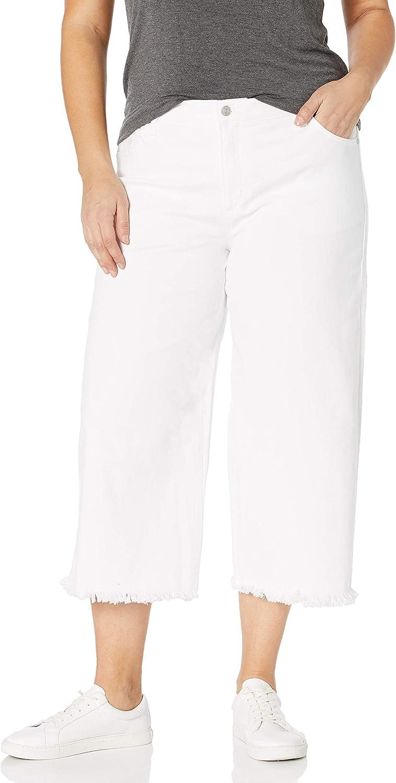 Gloria Vanderbilt Women's Amanda Wide Leg Crop Length Jean