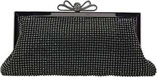 Bow Clutch Purse Soft Crystal Evening Bags And Clutches