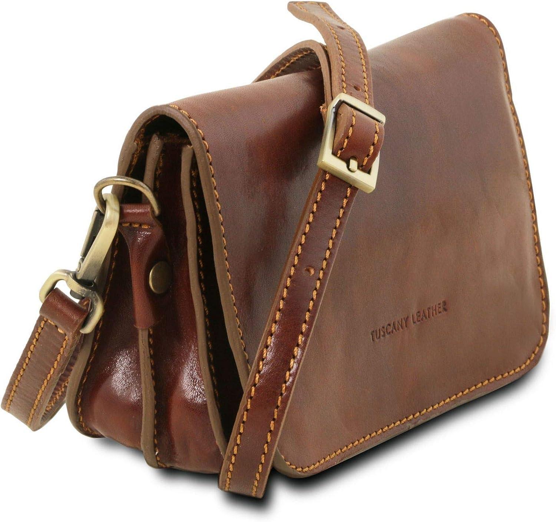 Tuscany Leather Sac bandouli/ère en Cuir Marron