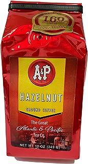 AP HAZEL340 Ground Coffee, 12-Ounce, Hazelnut