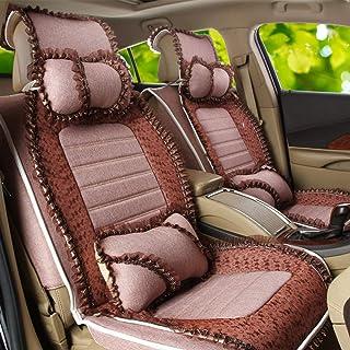 JKHOIUH Protector de cinturón de seguridad universal for cinturones de seguridad - El mejor protector antideslizante de asientos de automóvil - Perfecto for TIIDA Golf Lavida Focus Cubierta de General
