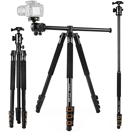 Andoer 200cm 78inch Kamera Stativ 2 In 1 Kamera