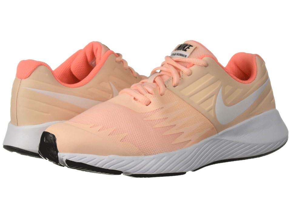 Nike Kids Star Runner (Big Kid) (Crimson Tint/White/Crimson Pulse/Black) Girls Shoes