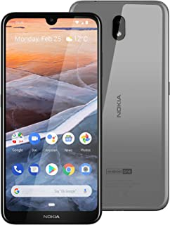 "Nokia 3.2 Android One Smartphone (Official Australian Version) 2019 4G Unlocked Mobile Phone with 2-Day Battery, 6.26"" Screen and Face Unlock, 16GB, Steel"