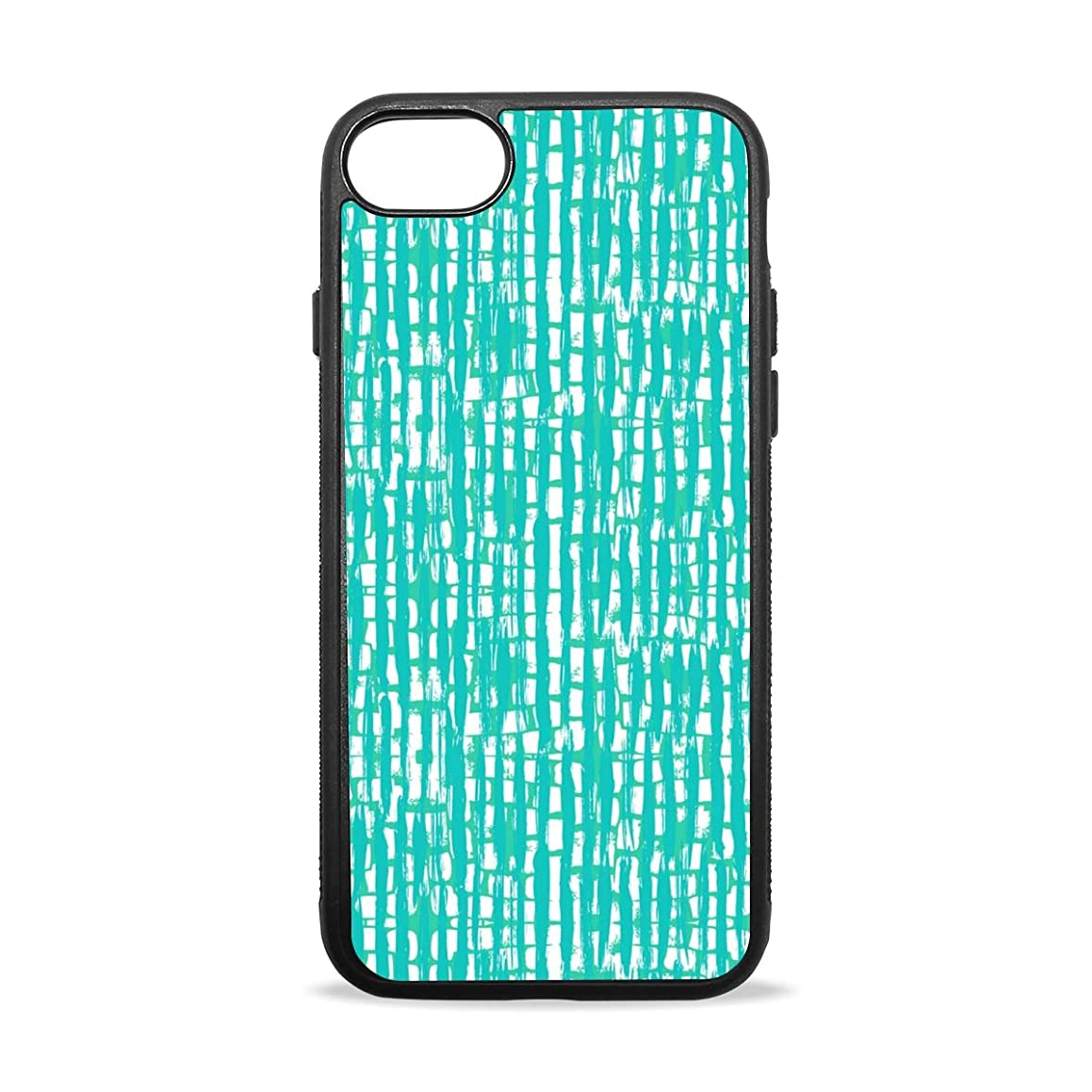 Like Bamboo Striped Decoration iPhone 8/8 Plus case, iPhone 7/7 Plus Case, Slim-Fit Matte TPU Clear Bumper Flexible Rubber Silicone Rugged Thin Protective Phone Case Cover