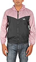 Aashi Men's Polyester Taffeta Wind Cheater Jacket with Hood