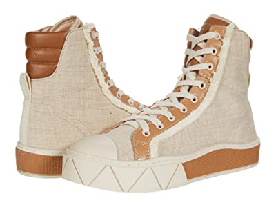 Schutz Liora (Natural/Wood/Honey Beige/Off-White/Ecru) Women