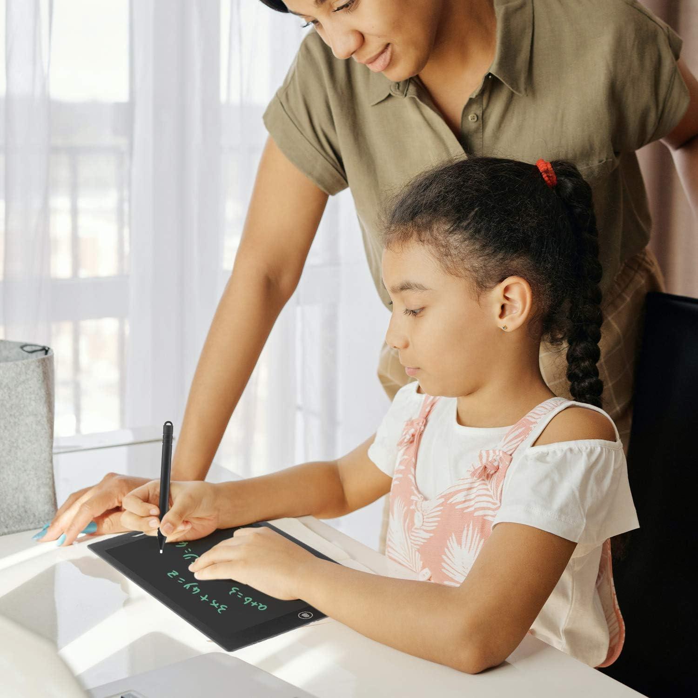 Black Elektronische Doodle Boards f/ür Kinder und Erwachsene Geschenk f/ür Kinder Erwachsene f/ür Home School Office Putron LCD Writing Tablet 12 Zoll LCD Schreibtafeln