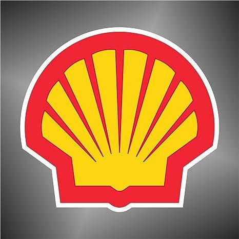 Graphic Lab Aufkleber Sticker Shell Sport Auto Rally Formula 1 Racing Decal Sticker Küche Haushalt