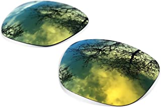 sunglasses restorer - Cristales Polarizados de Recambio Color Gold24K para Oakley Holbrook