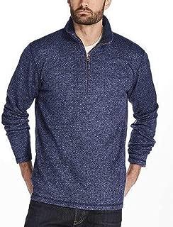 Men's ¼ Zip Sweater Fleece Pullover