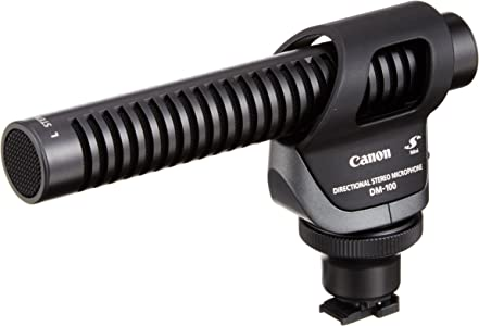 Canon 2591B002 DM-100 Directional Stereo Microphone...