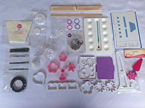 Kit Confeiteiro Flores confeitaria com várias peças método Wilton