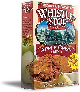 whistle stop apple crisp