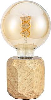 Pauleen 48159 48159Wood Sparkle Lampe Bois scandinave Poser luminaire Cube Max 25W E27 230V