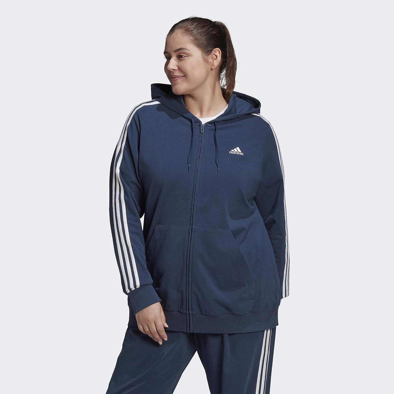 adidas Women's 3-Stripes Sj Hoodie