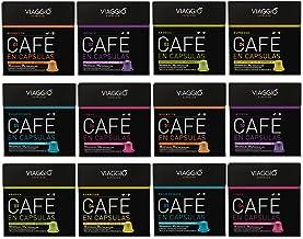 VIAGGIO ESPRESSO - 120 Cápsulas de Café Compatibles con Máquinas Nespresso - SELECCIÓN CLÁSICOS