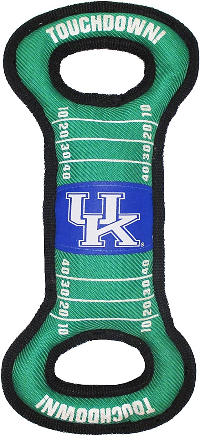 Kentucky Wildcats Pet's First Field Dog Toy with Squeaker Tough & Durable