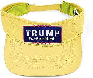 f11bf6770f8 Donald Trump for President 2016 Adjustable Sun Visor Hat