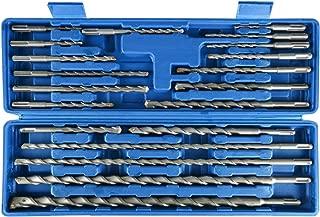 20pcs SDS Plus Rotary Hammer Drill Bits Carbide Tip Concrete Masonry Hole Tool Set