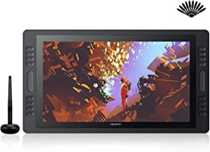 Huion KAMVAS Pro 20(2019) Drawing Monitor Tilt Function Battery-Free Stylus 8192 Pen Pressure with 16 Press Keys and 2 Touch Bars - 19.5 Inch