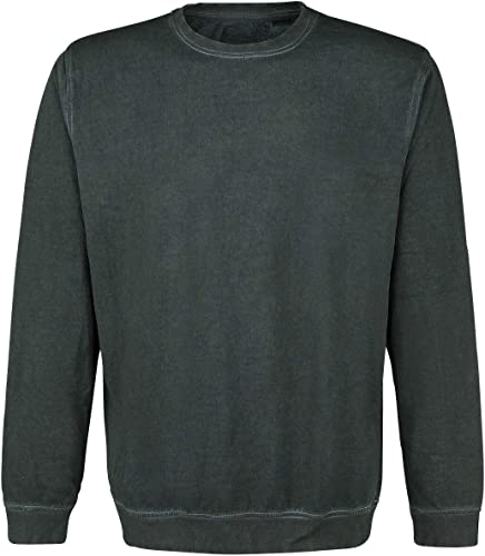 noir Premium by EMP Over My Dead Body Sweat-Shirt Vert