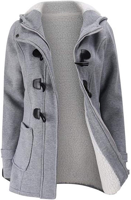 WUAI 2018 Mens Heavyweight Jacket Winter Casual Hoodies Zipper Coat Fashion Plus Size Oversized Outerwear Overcoat