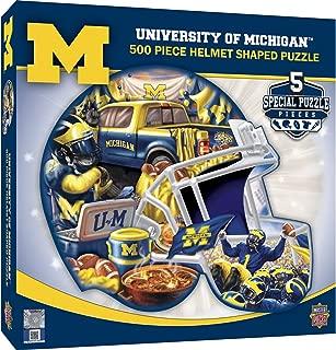 MasterPieces NCAA Unisex NCAA 500-Piece Helmet Shaped Jigsaw Puzzle