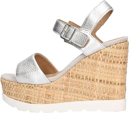 IGI&CO Sandales chaussures femmes femmes avec coin 78694 00  sortie en ligne