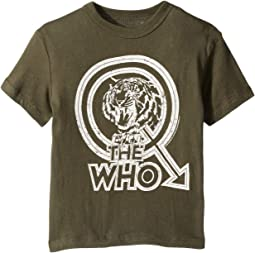 Extra Soft The Who Tiger Print Cotton Short Sleeve Tee (Toddler/Little Kids)