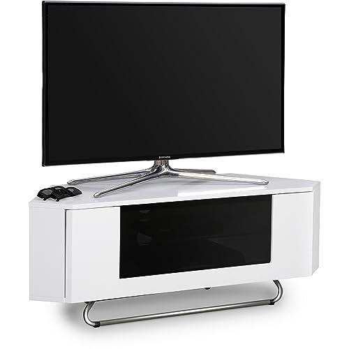 the latest 7815a bcd2a White Gloss Corner TV Units: Amazon.co.uk