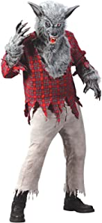 Fun World Werewolf Grey Costume, Medium 8 - 10, Multicolor