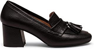 Zapatos miMaO. Zapatos de Piel Fabricados en España. Mocasines de Mujer con Tacón. Mocasines de Piel Elegantes
