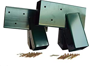 Best 4x4 post metal brackets Reviews