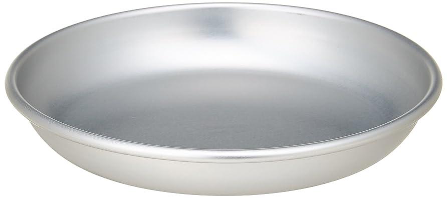 ゼロ付けるブレーキアカオアルミ 給食用皿 14cm アルミニウム(アルマイト) 日本 RKY11014