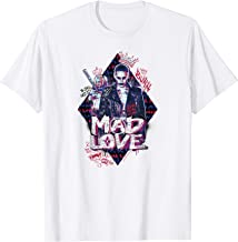 Suicide Squad Harley Quinn & Joker Mad Love T Shirt T-Shirt