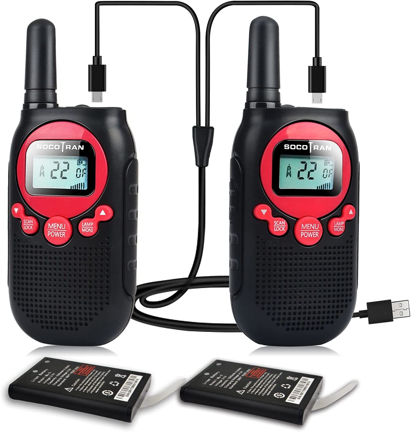 Walkie Talkies Rechargeable for Kids Adults Limited time for free shipping Walk or Store