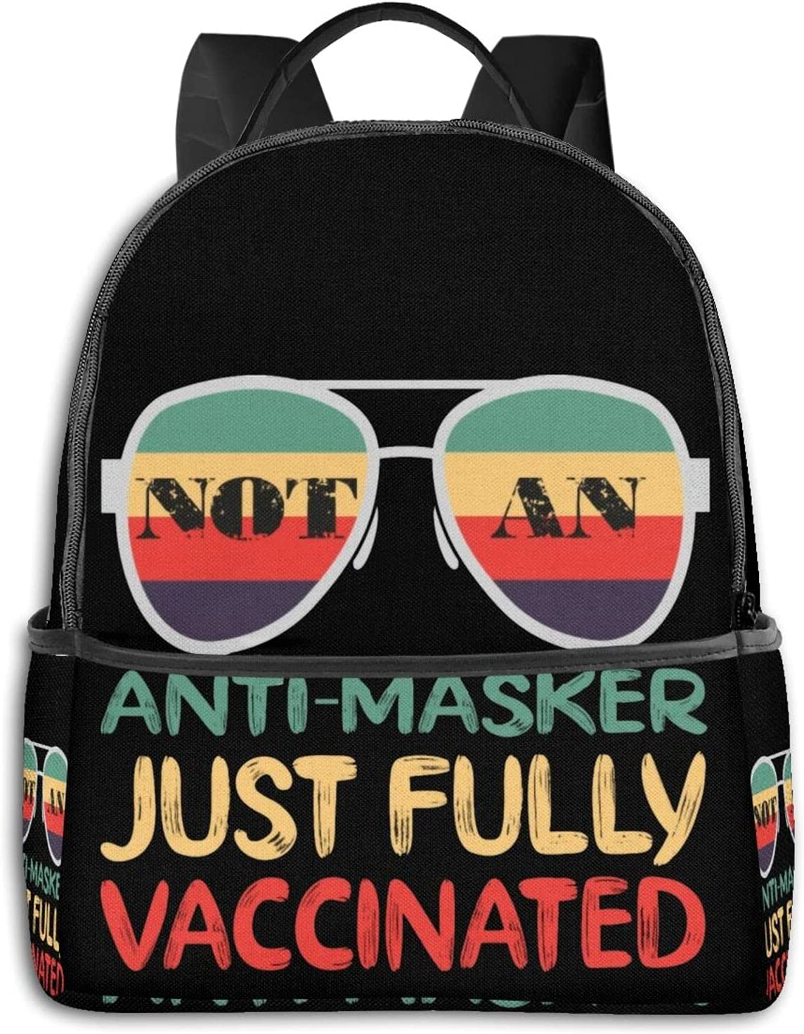 Petirmoso Anti Masker Just Fully Sale item Sports Backpa Max 89% OFF Vaccinated Travel