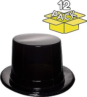 Best miniature black plastic top hats Reviews
